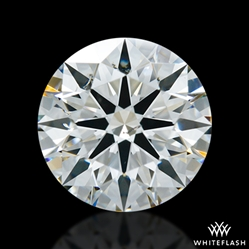 1.597 ct I SI1 A CUT ABOVE® Hearts and Arrows Super Ideal Round Cut Loose Diamond