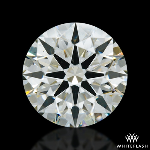 1.066 ct J SI1 A CUT ABOVE® Hearts and Arrows Super Ideal Round Cut Loose Diamond