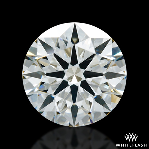 1.111 ct J SI1 A CUT ABOVE® Hearts and Arrows Super Ideal Round Cut Loose Diamond