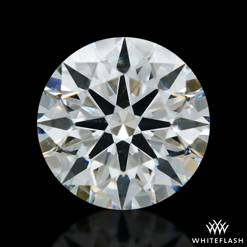 0.755 ct H SI1 A CUT ABOVE® Hearts and Arrows Super Ideal Round Cut Loose Diamond