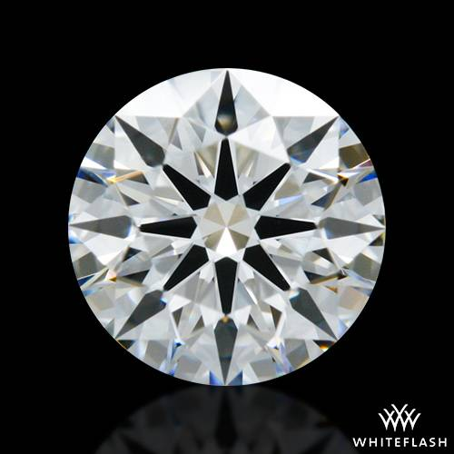 0.737 ct F VVS2 A CUT ABOVE® Hearts and Arrows Super Ideal Round Cut Loose Diamond