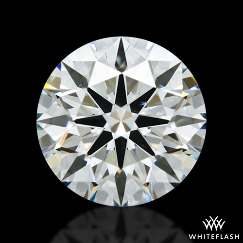 2.412 ct I SI1 A CUT ABOVE® Hearts and Arrows Super Ideal Round Cut Loose Diamond