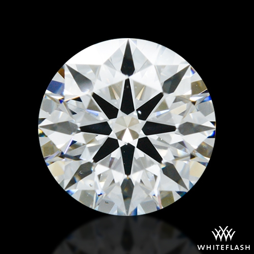1.078 ct F VS2 A CUT ABOVE® Hearts and Arrows Super Ideal Round Cut Loose Diamond