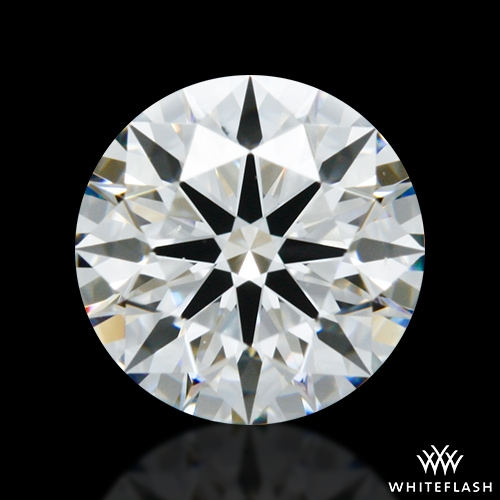 1.031 ct F VS2 A CUT ABOVE® Hearts and Arrows Super Ideal Round Cut Loose Diamond