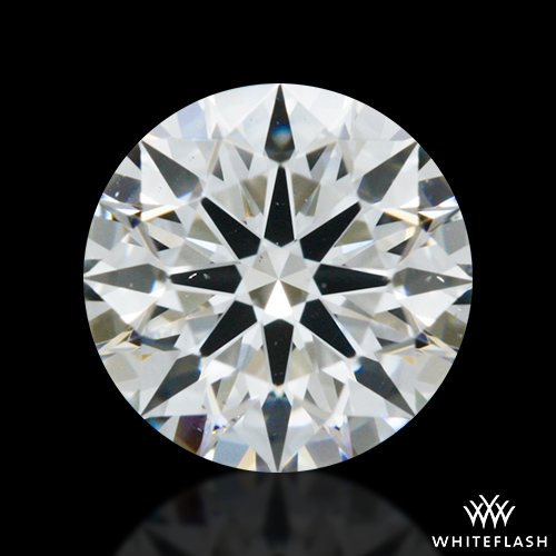 0.453 ct F VS2 A CUT ABOVE® Hearts and Arrows Super Ideal Round Cut Loose Diamond
