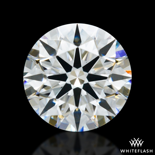 0.428 ct F VS1 A CUT ABOVE® Hearts and Arrows Super Ideal Round Cut Loose Diamond