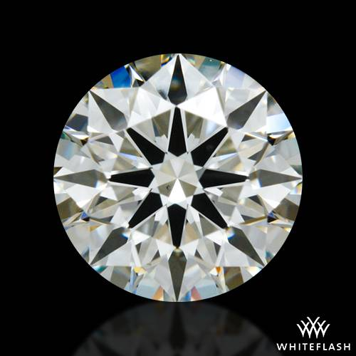 0.832 ct I VS1 A CUT ABOVE® Hearts and Arrows Super Ideal Round Cut Loose Diamond