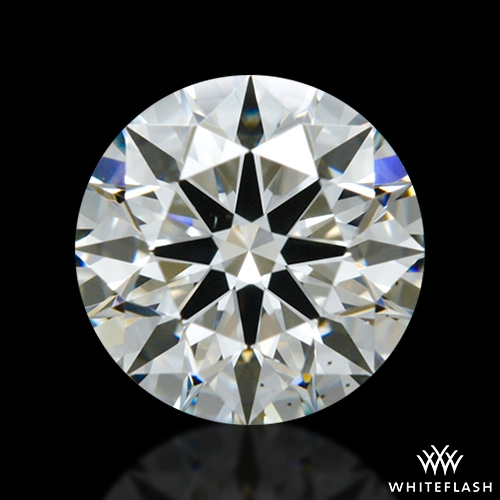 0.866 ct I VS2 A CUT ABOVE® Hearts and Arrows Super Ideal Round Cut Loose Diamond
