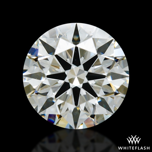 0.826 ct J VS1 A CUT ABOVE® Hearts and Arrows Super Ideal Round Cut Loose Diamond