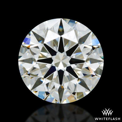 0.831 ct J VS2 A CUT ABOVE® Hearts and Arrows Super Ideal Round Cut Loose Diamond
