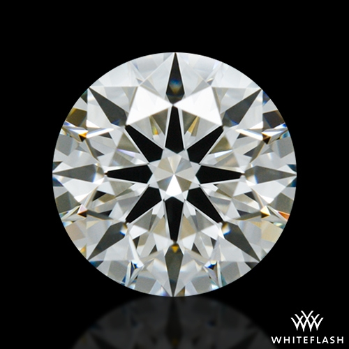 0.848 ct I VS2 A CUT ABOVE® Hearts and Arrows Super Ideal Round Cut Loose Diamond