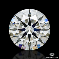 0.978 ct I SI1 A CUT ABOVE® Hearts and Arrows Super Ideal Round Cut Loose Diamond