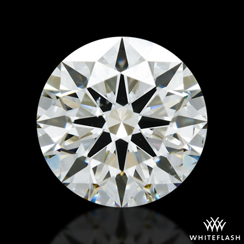 1.956 ct I SI1 A CUT ABOVE® Hearts and Arrows Super Ideal Round Cut Loose Diamond
