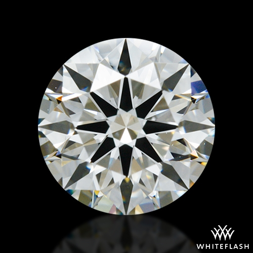 0.977 ct I VS2 A CUT ABOVE® Hearts and Arrows Super Ideal Round Cut Loose Diamond