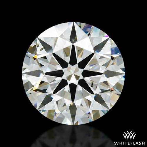 1.974 ct I SI1 A CUT ABOVE® Hearts and Arrows Super Ideal Round Cut Loose Diamond