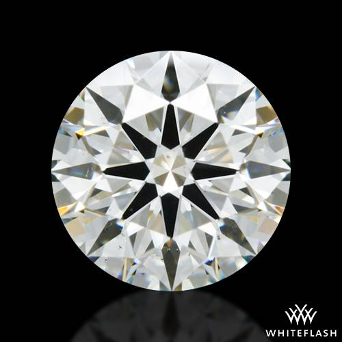 1.051 ct I SI1 A CUT ABOVE® Hearts and Arrows Super Ideal Round Cut Loose Diamond