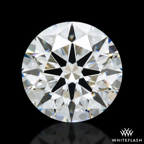 1.062 ct E VS2 A CUT ABOVE® Hearts and Arrows Super Ideal Round Cut Loose Diamond
