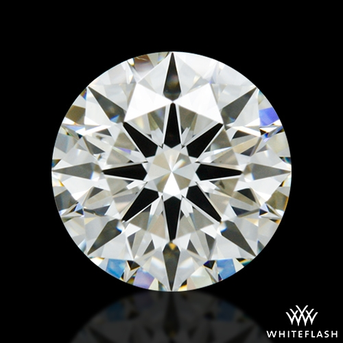 1.018 ct J VS2 A CUT ABOVE® Hearts and Arrows Super Ideal Round Cut Loose Diamond