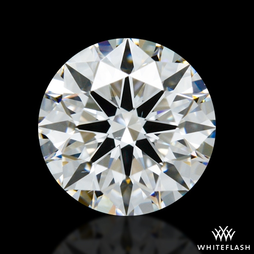 1.261 ct E VS2 A CUT ABOVE® Hearts and Arrows Super Ideal Round Cut Loose Diamond