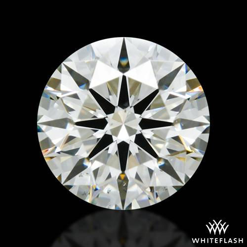 1.101 ct K SI1 A CUT ABOVE® Hearts and Arrows Super Ideal Round Cut Loose Diamond