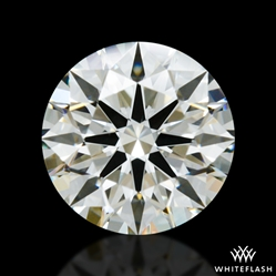 0.982 ct J VS2 A CUT ABOVE® Hearts and Arrows Super Ideal Round Cut Loose Diamond