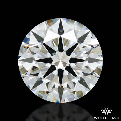 1.248 ct G SI1 A CUT ABOVE® Hearts and Arrows Super Ideal Round Cut Loose Diamond