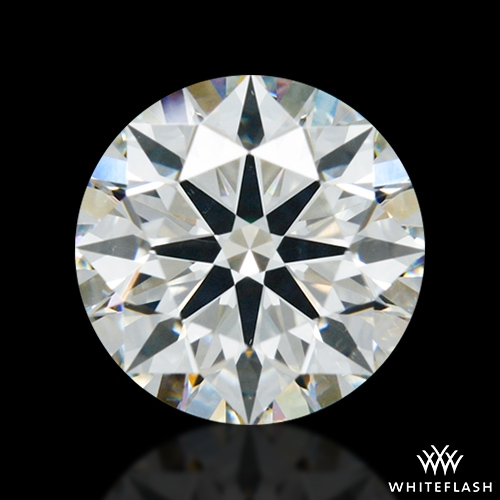 1.302 ct J SI1 A CUT ABOVE® Hearts and Arrows Super Ideal Round Cut Loose Diamond