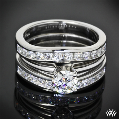 wedding bands custom contour diamond wedding bands back to gallery