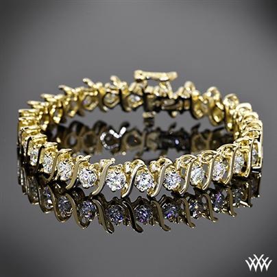 Custom Diamond Tennis Bracelet 4206