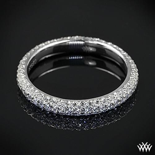 View Full Gallery Of Unique Engagement Rings Wedding Rings: Custom Full Eternity Diamond Wedding Ring