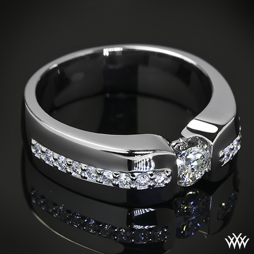 Custom Men's Diamond Wedding Ring