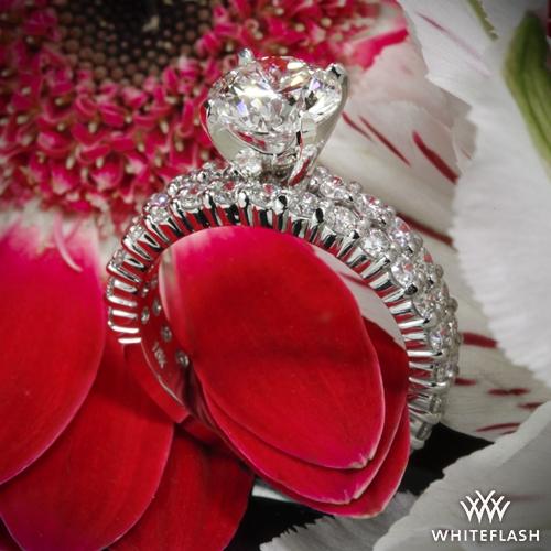 2063c06ac Diamonds for an Eternity Three Quarter Diamond Wedding Set