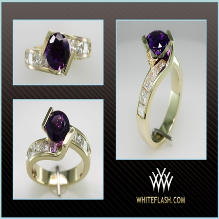Another impressive pieces of work! you did it again! Thank you so much for my beautiful rings even with all my changes :) I am and will always be a whiteflash customer for LIFE! hope you don