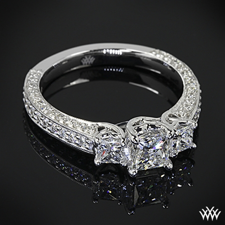 Perfect 3 Stone Engagement Ring