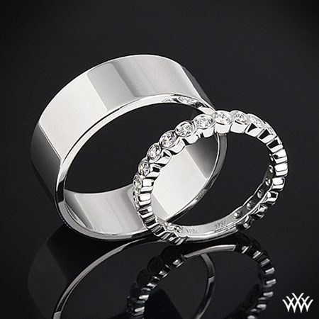 Loving our Wedding Rings from Whiteflash