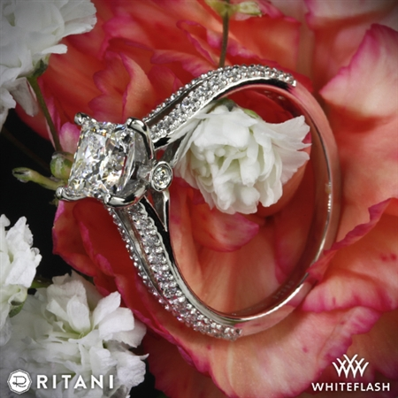 She LOVES her Ritani Ring!
