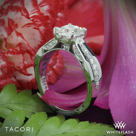 She is absolutely in love with her Tacori ring!