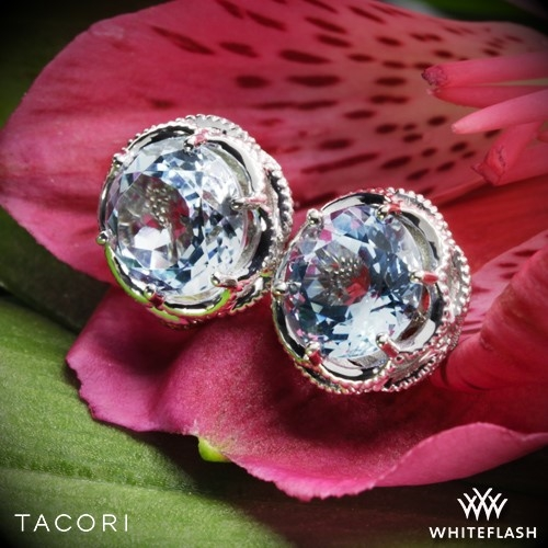 Tacori SE10502 Island Rains Sky Blue Topaz Earrings
