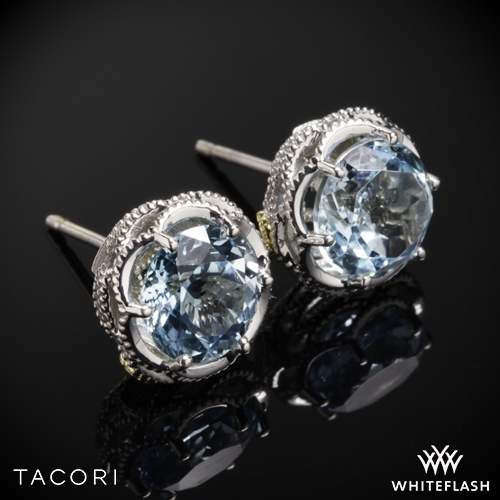 c68c9998fe98f9 Tacori SE10502 Island Rains Sky Blue Topaz Earrings