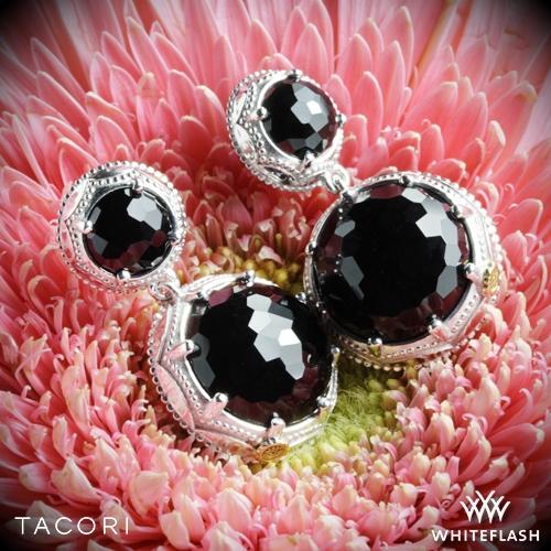 Tacori SE10519 Black Lightning Onyx Earrings