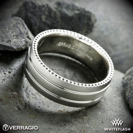 Verragio 8N03 Channeled Wedding Ring
