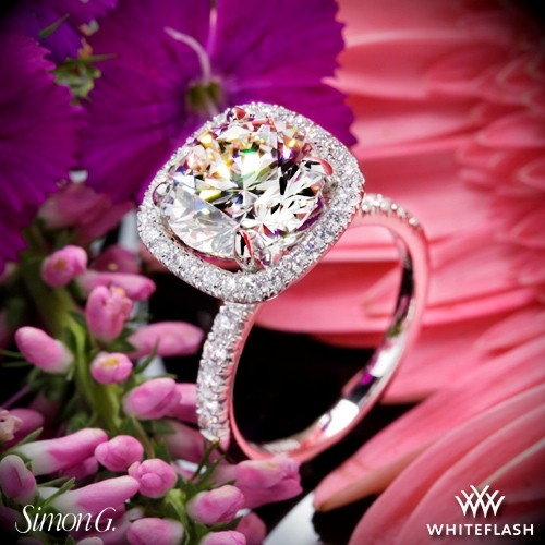 Simon G. MR2132 Passion Diamond Engagement Ring