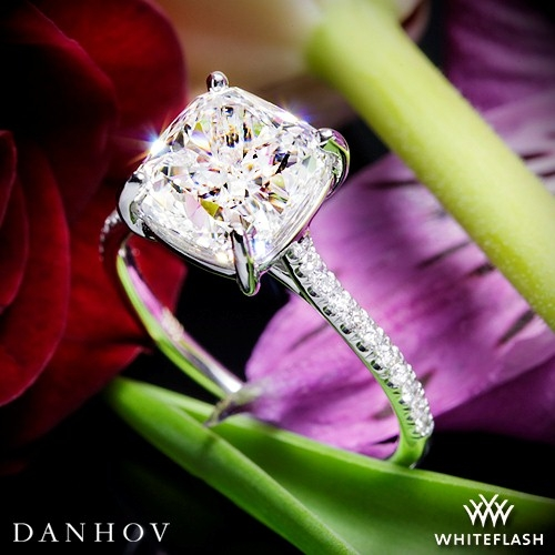 Danhov CL138 Classico Single Shank Engagement Ring