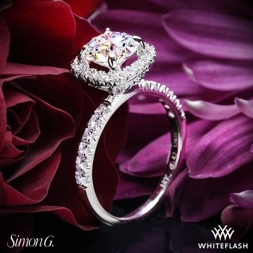 Simon G. MR2132 Passion Diamond Engagement Ring