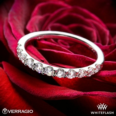 Verragio ENG-0352W Prong Set Diamond Wedding Ring