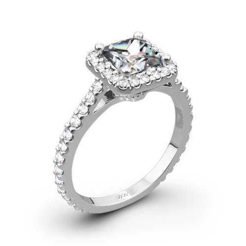 Amphora Diamond Engagement Ring for Princess