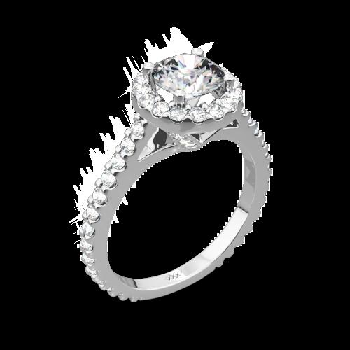 Amphora Diamond Engagement Ring
