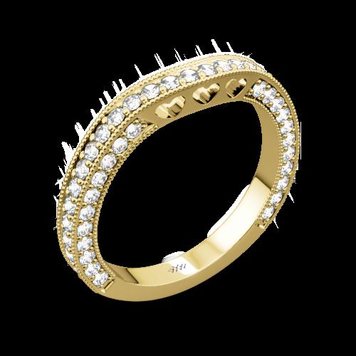 Coeur de Clara Ashley Diamond Wedding Ring