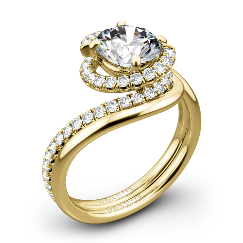 Danhov AE100 Abbraccio Diamond Wedding Set