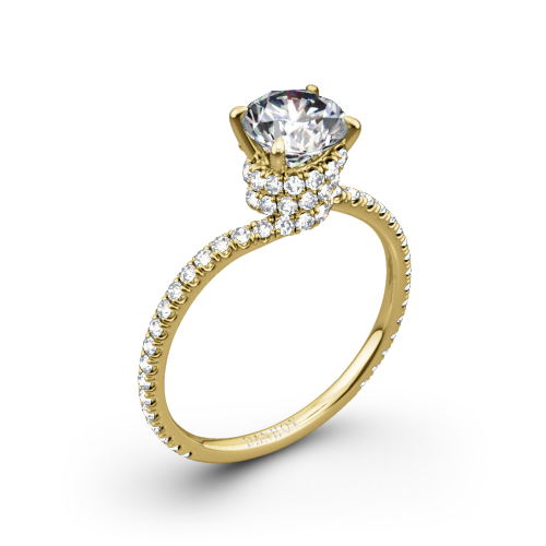 Danhov AE107 Abbraccio Diamond Engagement Ring